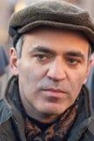 Garry Kasparov, campeón del mundo en un ajedrez Imágenes de archivo libres de regalías