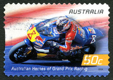 Garry McCoy Australian Postage Stamp fotos de stock royalty free