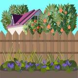Garten vektor abbildung