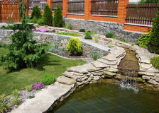 Garten Lizenzfreies Stockfoto