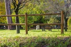 Garten-Abtei von Farfa Lizenzfreies Stockfoto