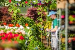 Garten-Abteilungs-Arbeitskraft Lizenzfreies Stockfoto