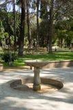Garten Alcazar-Palast lizenzfreie stockfotos