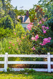 Garten-Ansicht Maryland Stockbilder