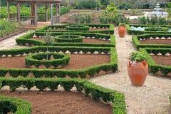 Garten-Aufbau Stockfotos