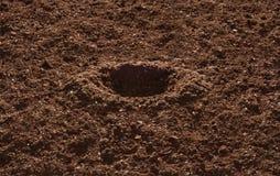 Garten-Boden stockbild