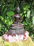 Garten Buddha Stockfotos