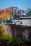 Garten in Bukarest stockfotos