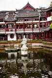 Garten China Shanghai-Yuyuan Stockfoto