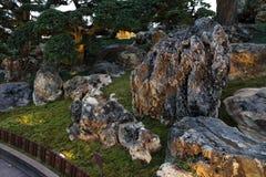 Garten der chinesischen Art Lizenzfreies Stockfoto