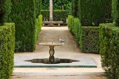 Garten der Dichter lizenzfreie stockbilder
