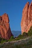 Garten der Götter Kolorado Lizenzfreie Stockfotos