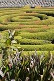 Garten in der Getty Mitte Stockbilder