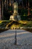 Garten der japanischen Art in Kyoto Stockfotografie