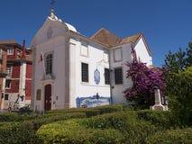 Garten der Kirche von Santa Luzia in Lissabon Portugal Stockfotografie