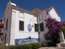 Garten der Kirche von Santa Luzia in Lissabon Portugal Stockfoto