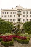 Garten des Landhauses Carlotta Stockfotografie