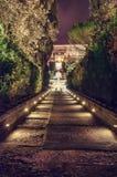 Garten des Landhauses d Este Lizenzfreie Stockbilder