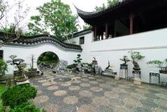Garten des traditionellen Chinesen Stockbild