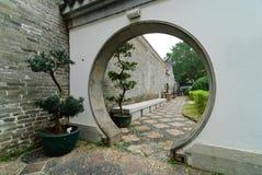 Garten des traditionellen Chinesen Lizenzfreies Stockbild