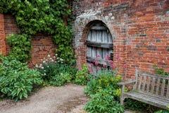 Garten-Eingang Lizenzfreie Stockbilder