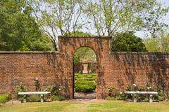 Garten-Eingang stockbild