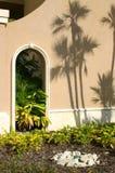 Garten-Eingang stockfotografie