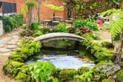 Garten in frischem Lizenzfreies Stockbild