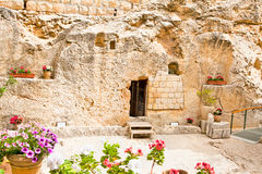 Garten-Grab in Jerusalem, Israel stockbild