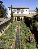 Garten Granada-Alhambra Lizenzfreie Stockbilder
