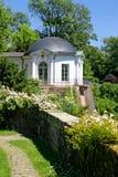 Garten-Haus des Johannisburg Palastes Stockfotos