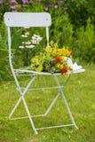 Garten Idyll Lizenzfreies Stockfoto