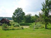 Garten Idyll Stockbilder