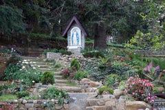 Garten im Kloster Lizenzfreie Stockbilder