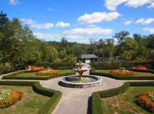 Garten im September Lizenzfreies Stockfoto