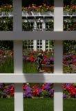 Garten innerhalb eines Gartens lizenzfreie stockfotografie