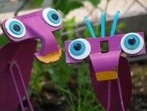 Garten-Insekt-Kunst Lizenzfreies Stockbild
