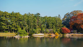 Garten Koraku-en in Okayama Stockfotos