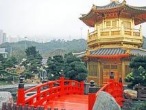 Garten Lian Nan in Hong Kong Lizenzfreies Stockfoto
