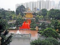 Garten Lian Nan in Hong Kong Stockfotografie