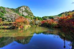 Garten Mifuneyama Rakuen Lizenzfreie Stockfotos