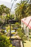 Garten mit Ansichten. Lizenzfreie Stockbilder