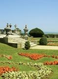 Garten mit Meerblick Stockbilder