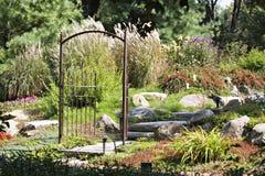 Garten-Paradies Stockbilder