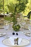 Garten-Party stockfotos