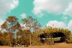 Garten pavillion Stockfoto