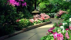 Garten PFAD Stockfotografie