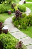 Garten-Pfad stockfoto