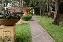 Garten PFAD Stockfotos