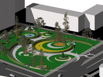 Garten-Projekt Lizenzfreie Stockfotos